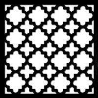 pattern 14 taglio laser