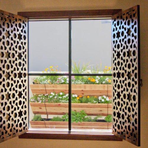 pannelli in legno per finestre