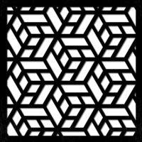 pattern 27 separè taglio laser