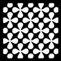 pattern 17 pannelli forati