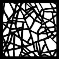 pattern 10 taglio laser