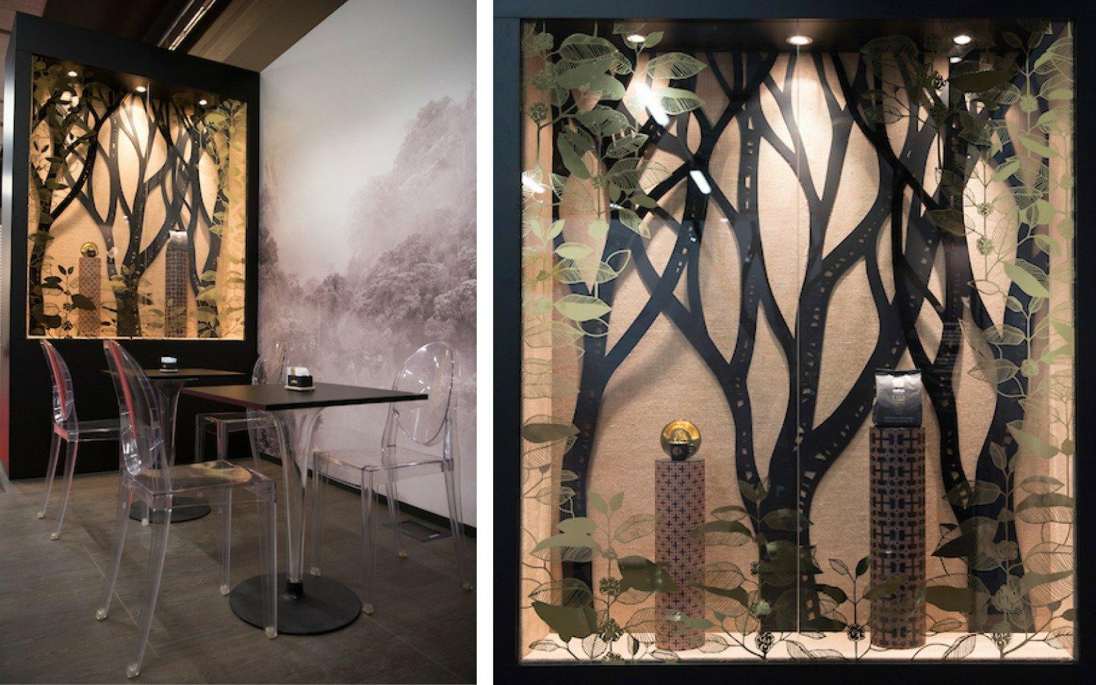 pannelli decorativi su misura in legno e plexiglass