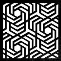 pattern 40 pannelli traforati
