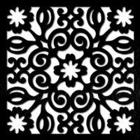 pattern 21 pannello divisorio taglio laser